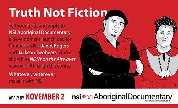 Director/producer teams: apply for NSI Aboriginal Documentary and get training, mentorship… https://t.co/OuzduFNBcV https://t.co/CjFVGCrNNc