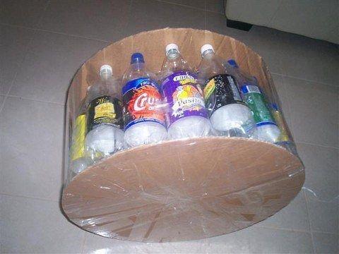 Пуфики из пластиковых бутылок мастер класс фото