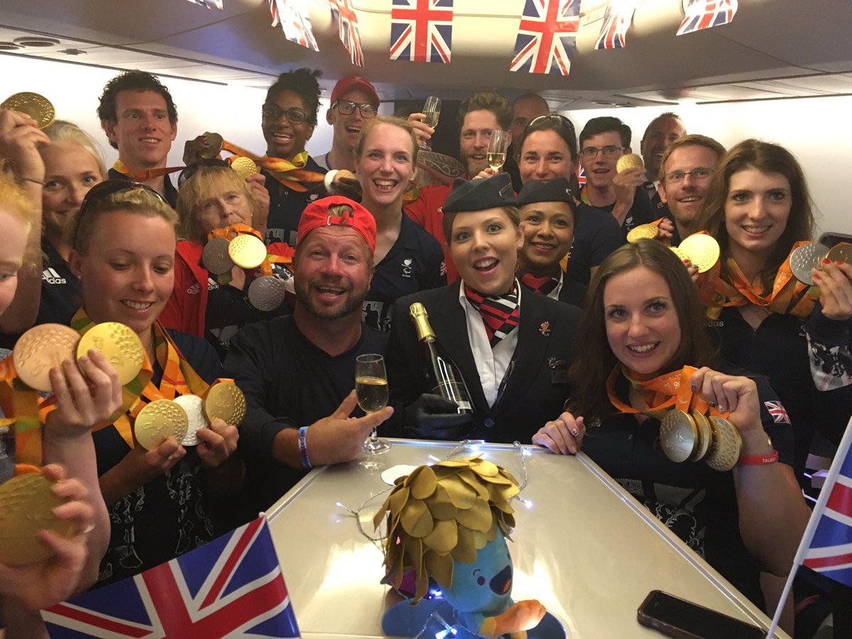 UK's Paralympians arrive back as date set for double celebration