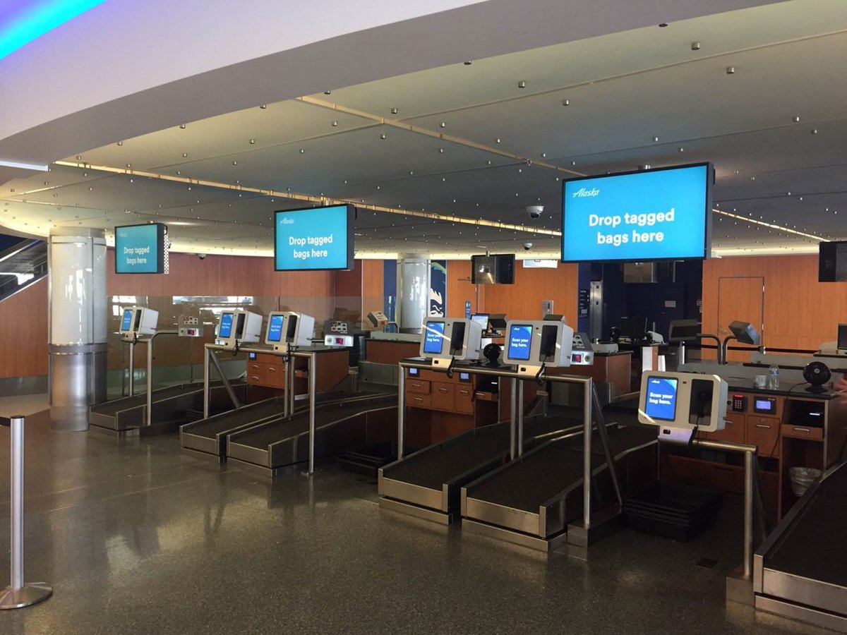 RT @AlaskaAir: Scan & fly. We're testing new technology at @FlyLAXairport over next 2 mths: