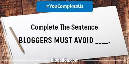 Complete the sentence and stand a chance to win #MiamiBlues Sunglasses! #YouCompleteUs #CelebrateBlogging https://t.co/H7wzSMKPTB