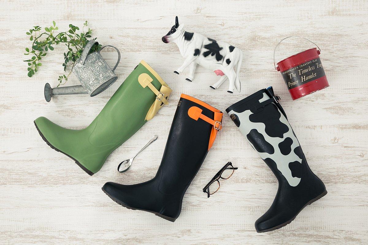 「銀の匙 Silver Spoon」コラボラバーブーツが登場!雨の日もおしゃれに◎八軒勇吾モデル、大蝦夷農業高校モデル、