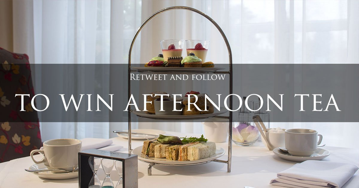 We serve delicious afternoon tea at our hotels.#Retweet and #follow us for a chance to #win afternoon tea for two... https://t.co/b3bdyDvhFe