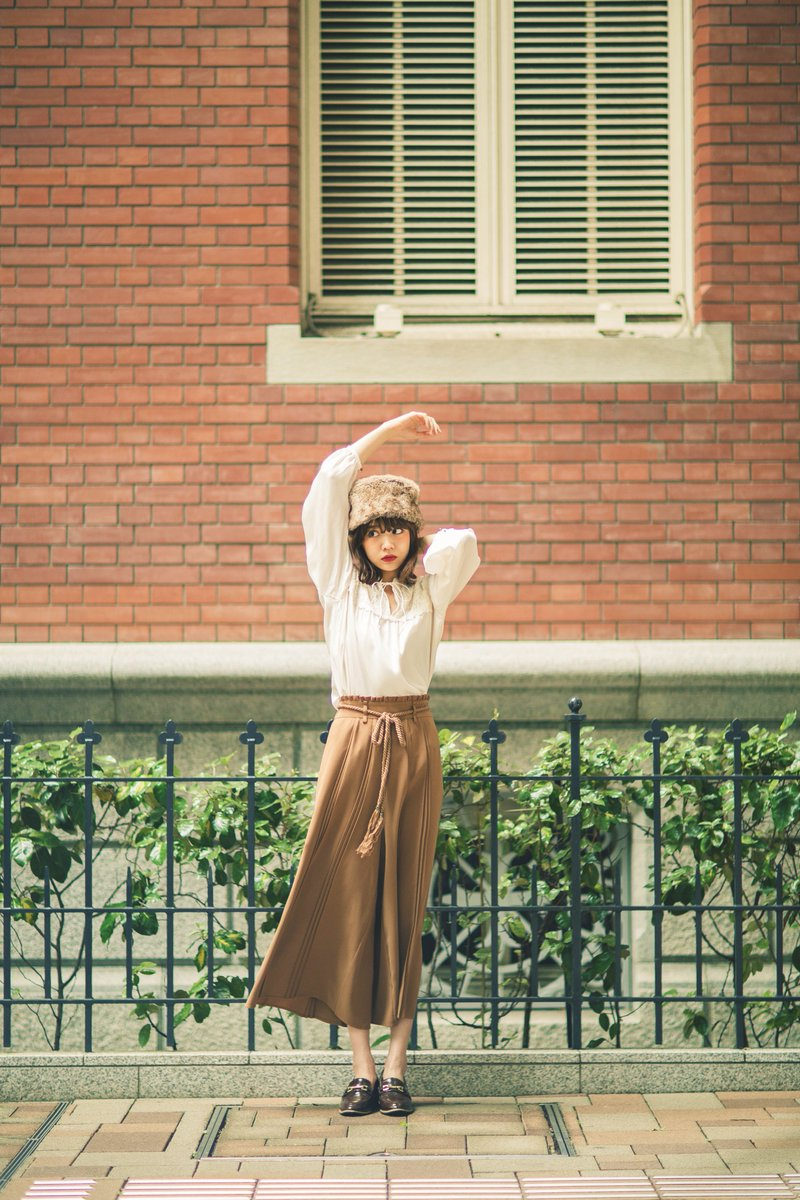 【olive des olive × 村田倫子】のコラボアイテムのイメージを撮影させてもらっています。 りんちゃんの夢の一つを撮れて、本当に幸せでございます。  こちら詳細↓ https://t.co/9UNrenm3IC https://t.co/gy5tfSuD3W