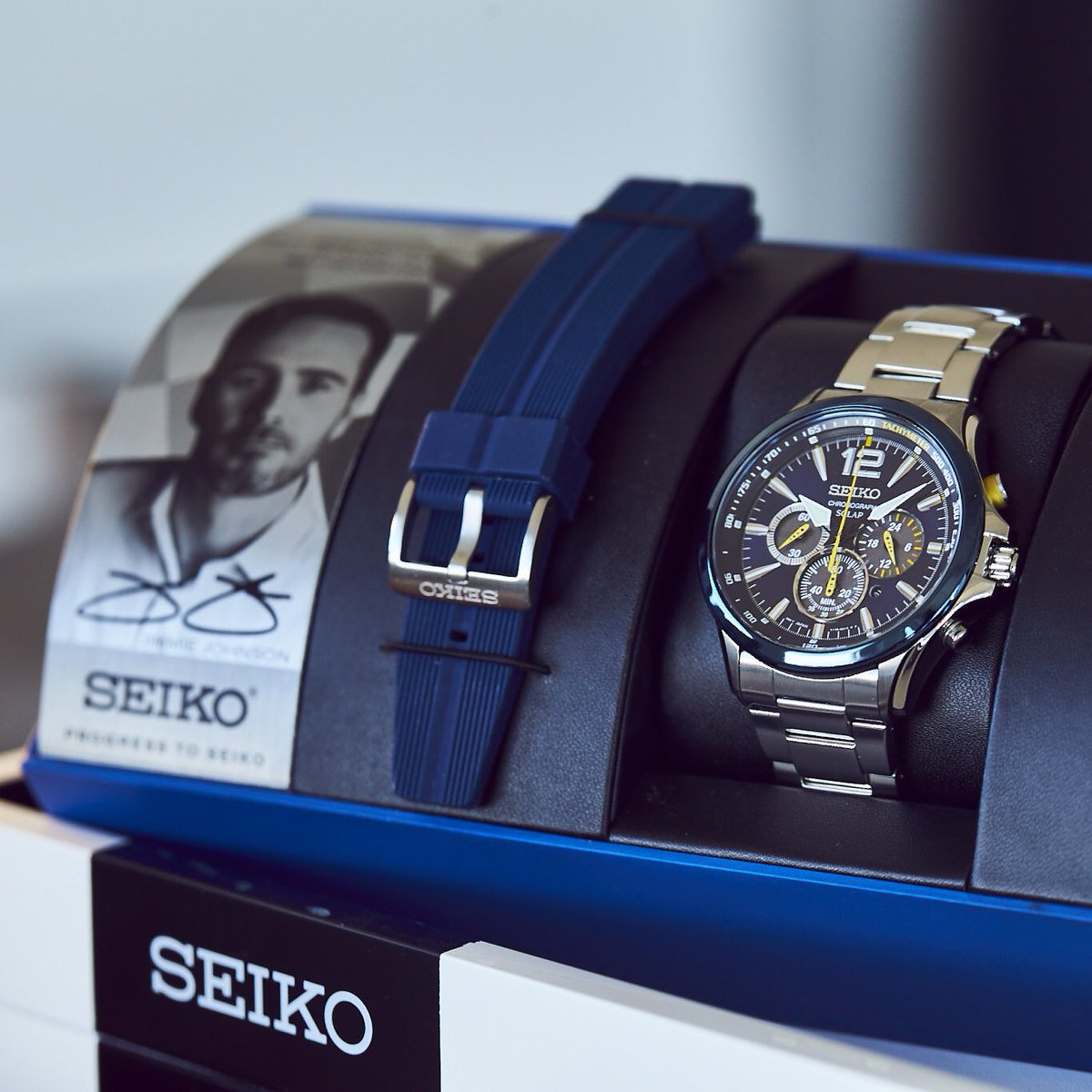 Special #jjswag thx to @seikowatches announcing my new watch. Any RT is eligible, will pick 8pmET tonight to win it! https://t.co/1jgdiSSOdx