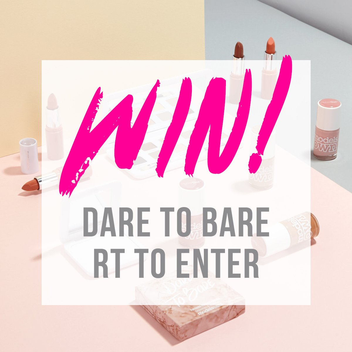 #WIN!! A set of our gorgeous nude Dare To Bare Collection! RT to enter *T&Cs apply (Closes 27/09/16 15:00 UK time) https://t.co/gLgJWwONE9