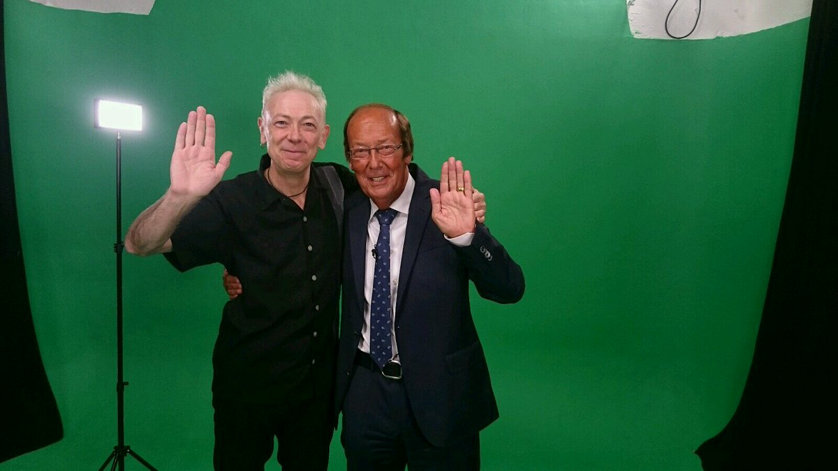 Yes! this actually happened today, me and @freddinenageITV in a studio together for the first time in 12 years. https://t.co/DMeDmY0iIZ