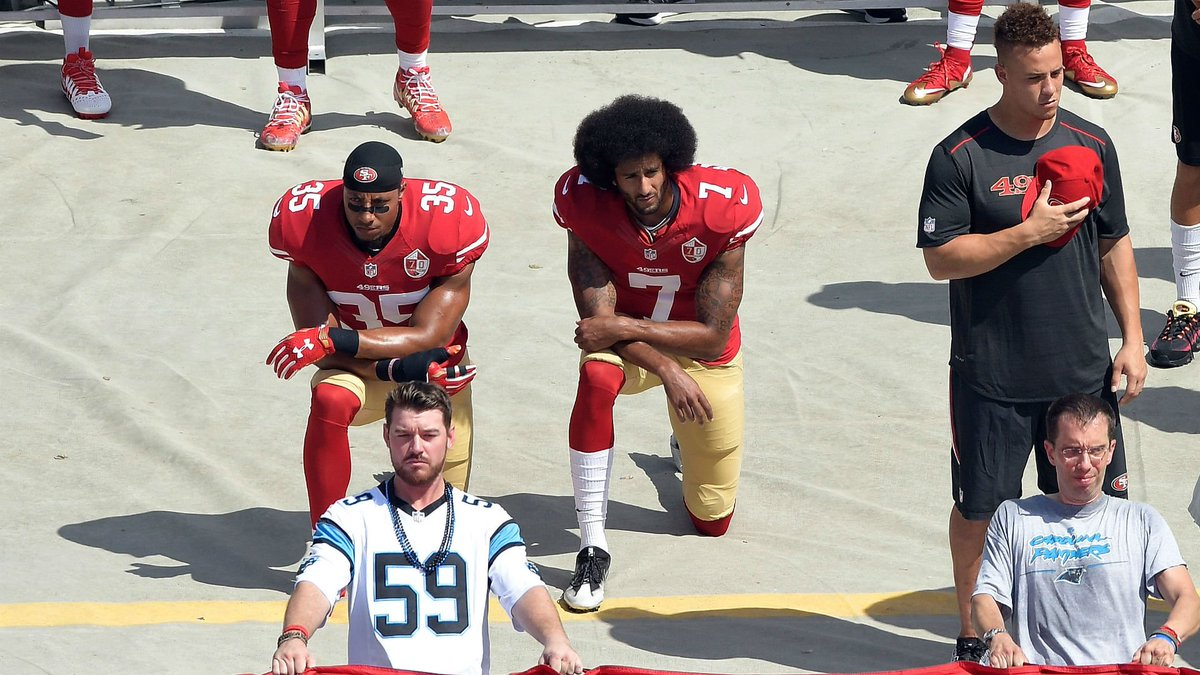 After another police shooting, silence from Kaepernick's critics speaks volumes https://t.co/XWBX6wyhSK https://t.co/P1DcPnYtHD
