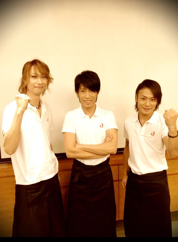 かりゅ→佐藤くんKOHTA→相馬さんギルちゃん→小鳥遊くんAngeloでWORKING!!