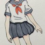 @0np64x1138w059w: 久々に真奈ちゃん描いた〜コッペリオンの記念絵描きたい#コッペリオン#COPPELIO