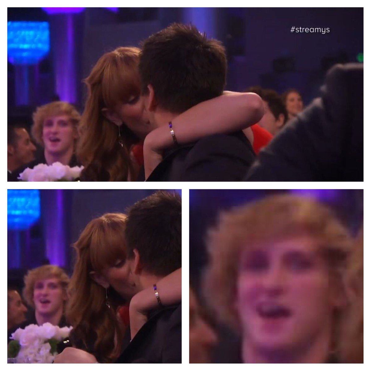 When your crush gets back with her boyfriend and you try and act happy for her @LoganPaul