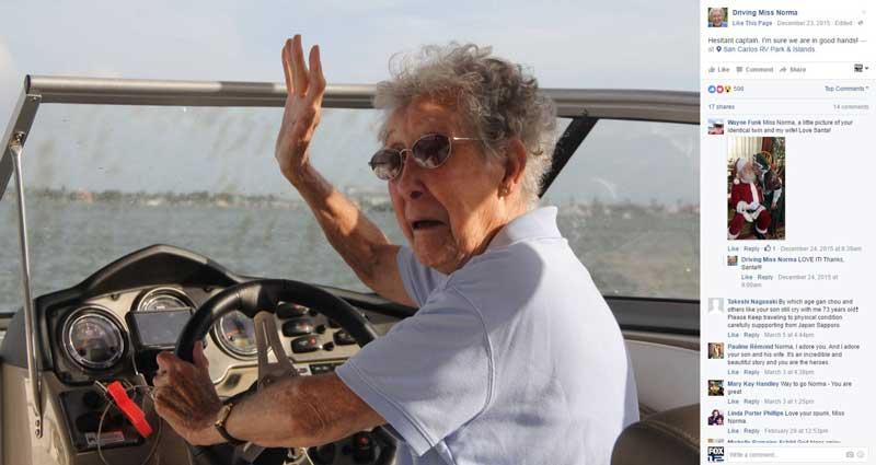 91-year-old woman who chose road trip adventure over cancer trea - FOX5 Vegas - KVVU