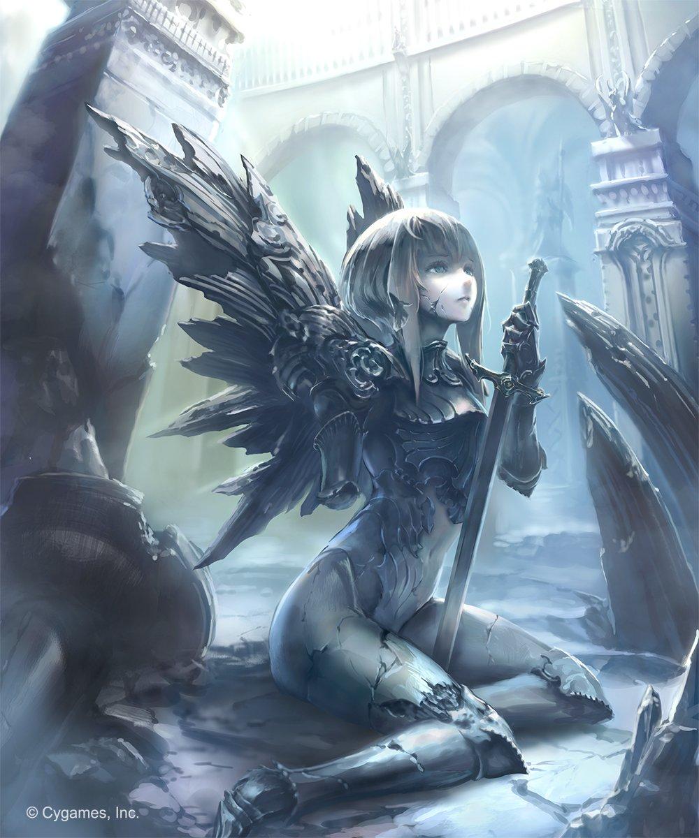 ダークネス・エボルヴで追加された『封じられし熾天使』~『栄光のセラフラピス』の大きめサイズをUP。 Shadowvers
