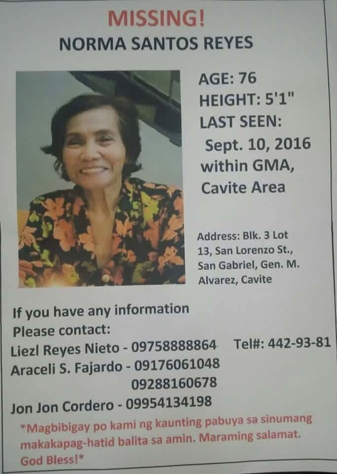 Please share and help find Lola Norma! She has Alzheimer's disease, and has been missing for three weeks now. https://t.co/NF6AvuzjrD