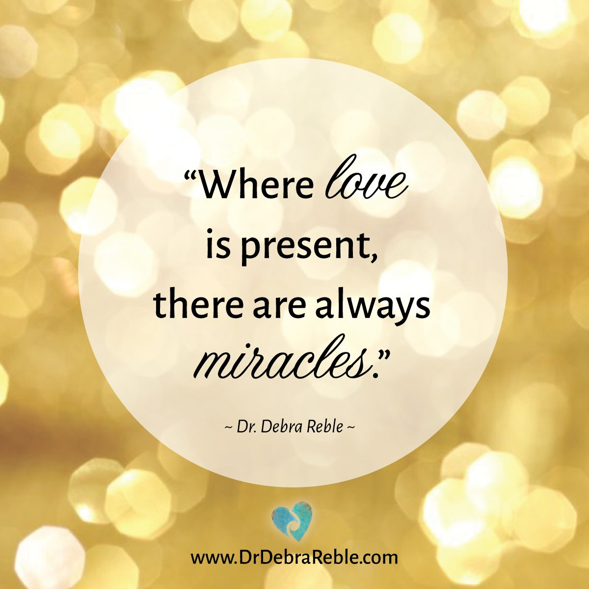 """""""Where LOVE is present there are always #MIRACLES."""" #BeingLove #SharetheLove https://t.co/I80J4bvrwq"""