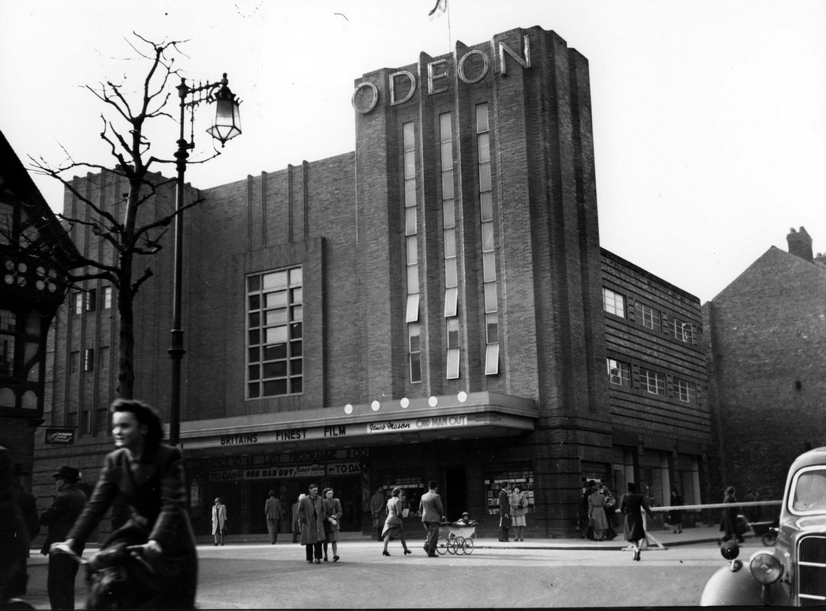 Happy 80th Birthday to the Odeon! Currently being transformed into a £37m cultural centre: STORYHOUSE #Odeonis80 https://t.co/tgdHD42zHI