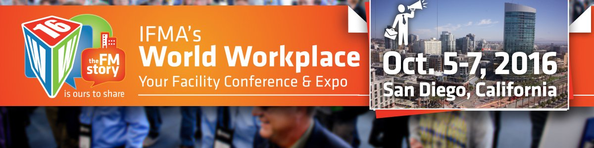 Join us in San Diego this week for the #facilitymanagement event of the year https://t.co/ABiPKhkskk #IFMAWW16 https://t.co/ZUkto8HW4L