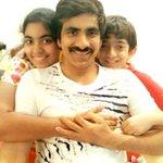 Rare pic : #RaviTeja with his children.. https://t.co/MS0WQumVsJ