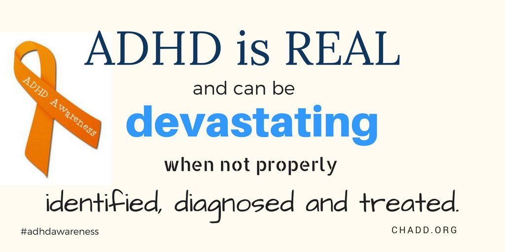 #ADHD is real. #ADHDAwareness https://t.co/Ea5MNLSseU