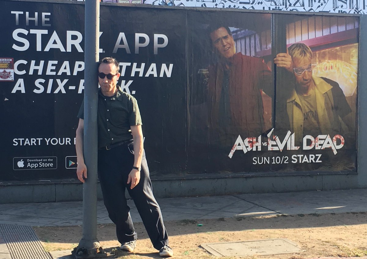 Thanks @AshvsEvilDead fans for a great season 2 premiere last night! https://t.co/1mYQv1PsIB
