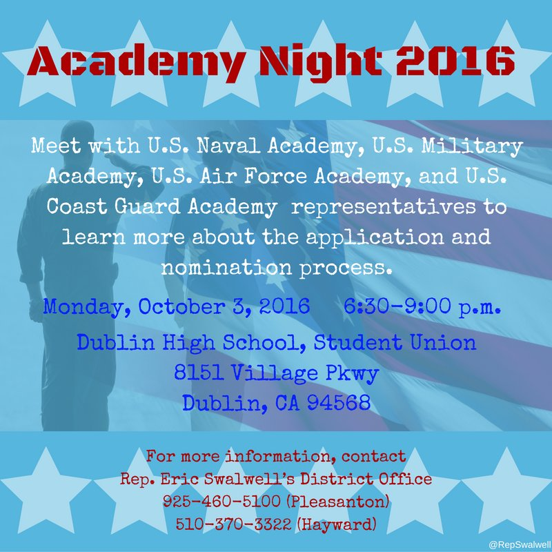 Tonight! A great event for young people who are considering serving our nation. https://t.co/LkXPfeNUdQ