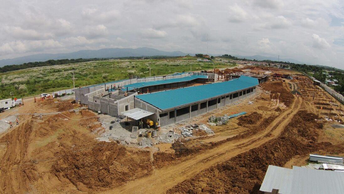 Con un avance del 15 la construcci n del nuevo cefi for Cafetin colegio las colinas
