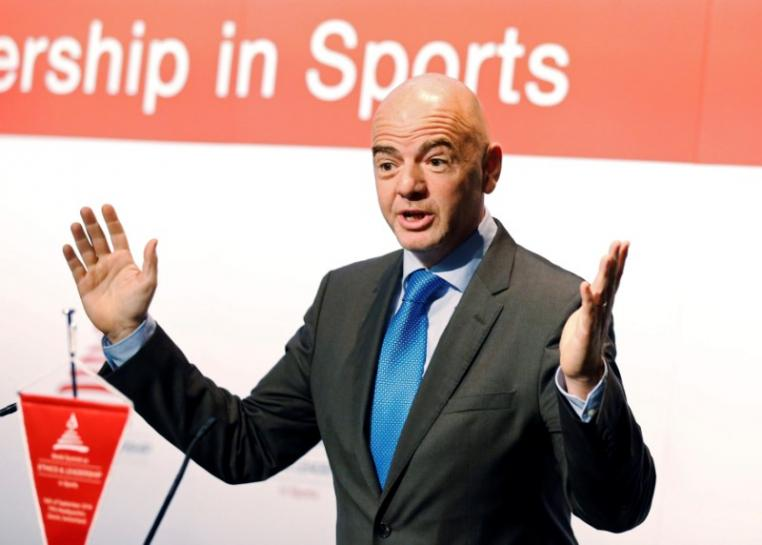 Soccer: FIFA chief Infantino suggests 48-team World Cup