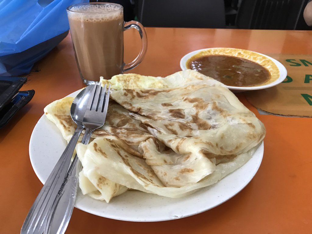 Handcrafted south Asian crepes with farmed eggs and carefully sliced onions. Best eaten with frothy artisanal tea. https://t.co/7vteNQkuqt