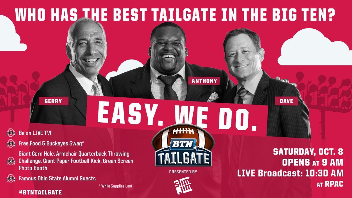 This weekend at the #BTNTailgate I'll be joined by @MekkaDonMusic in Columbus, OH! See you there!   @BigTenNetwork https://t.co/466utjDXvY