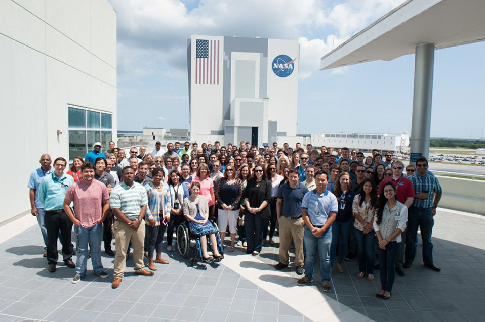 Over the next few weeks, we'll share stories of real employees and why they are #NASAProud: https://t.co/NVzVkov5g0 https://t.co/qjGnyQ5Skd