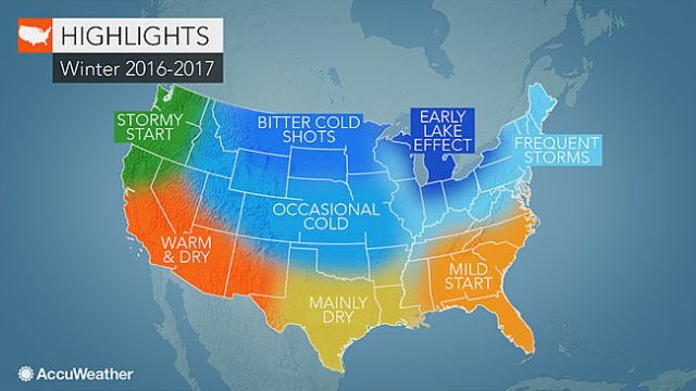 Good news from @accuweather