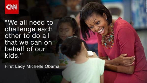 Michelle Obama on children #quote https://t.co/AZ5woIXl9A