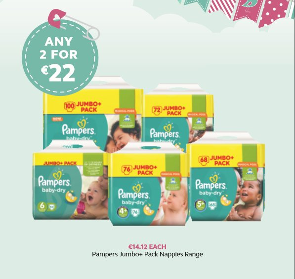 Last day of the Pampers offer https://t.co/G5iI4gjL2Y