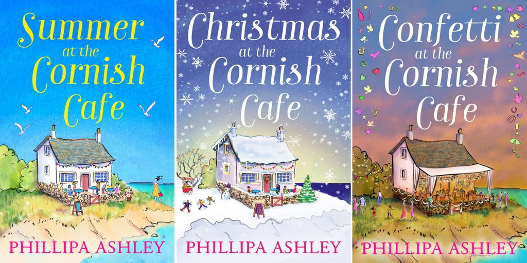 ICYMI  all three covers in the Cornish Cafe series have now been revealed!   #tuesnews @RNAtweets #tripleCornish https://t.co/FNkEChXRW1