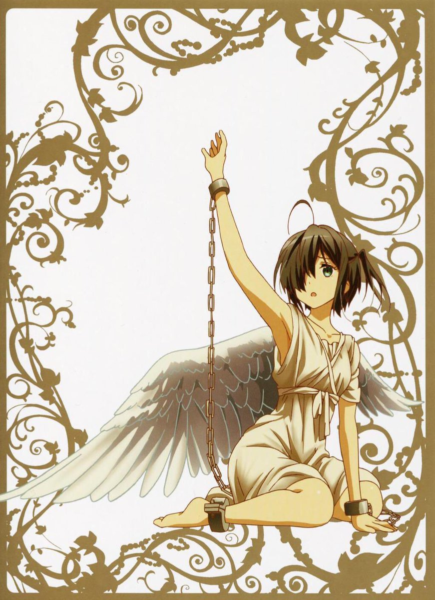 #天使の日 恒例の大天使たち小鳥遊六花凸守早苗丹生谷森夏五月七日くみん#chu2koi