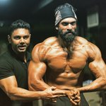 Here goes the new and improved me!! #BiggerMeanerStronger for @BaahubaliMovie with @KunalGir https://t.co/6c8SshQRTr