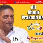 RT @idlebraindotcom: Interview with Prakash Raj about #ManaOoriRamayanam by Maya Nelluri https://t.co/aJiuPe7Um4 https://t.co/A950Ldziid