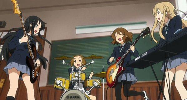 私は…このメンバーとバンドするのが楽しいんだと思う。#k_on#秋山澪bot