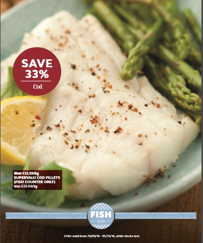 Thinking about fish for dinner? @SuperValuIRL #fishsale #goodfoodkarma https://t.co/tyAmuYitHR