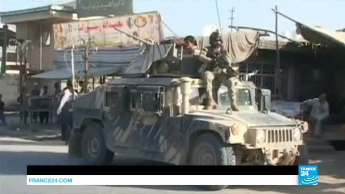 VIDEO -  Afghanistan: Fierces gunbattles as Government forces push Taliban back from Kunduz