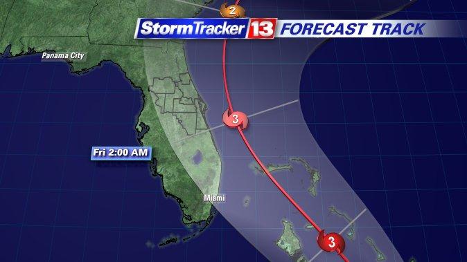 Hurricane Matthew may have impact on Florida, reports @MaureenMcCann13  https://t.co/Xw6ytSpCYm https://t.co/QQXbXy0sAM