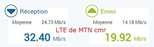 comparaison de la LTE de @MTNCameroon vs @VodafoneCM   Je préfère ne pas tirer de conclusion. A vous de le faire https://t.co/Vcyd8HHaC9
