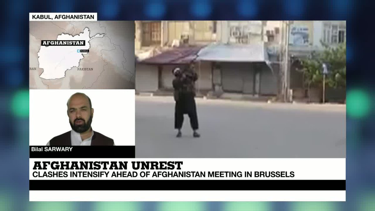 "VIDEO -  Afghanistan: fighting over Kunduz ongoing, ""helicopters pounding taliban positions"""
