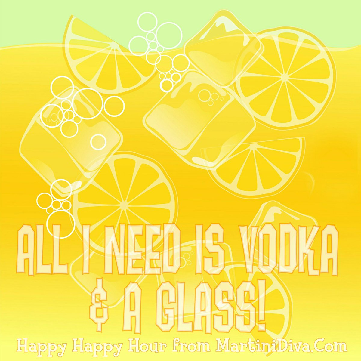 """Happy #NationalVodkaDay! """"When life gives you lemons, find someone who has #vodka and throw a party."""" ~ @Ron_White https://t.co/r2Go4vLMW2"""