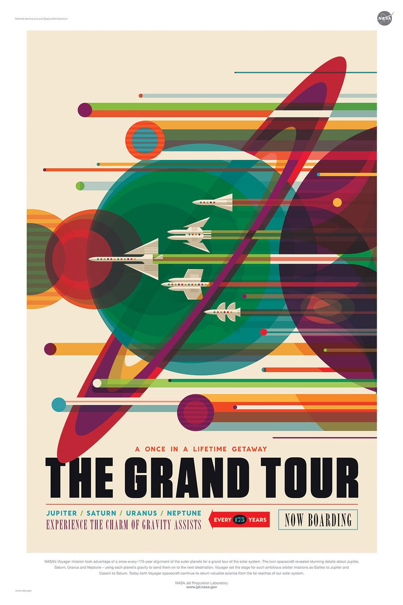 Lovely NASA posters are lovely. Also, free. https://t.co/407fYwWots https://t.co/CXjgk1RJWk