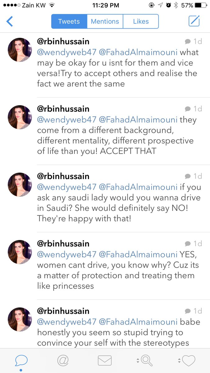 Is this girl for real? Who died and made you the Saudi women spokesperson? https://t.co/433FwtYe5l