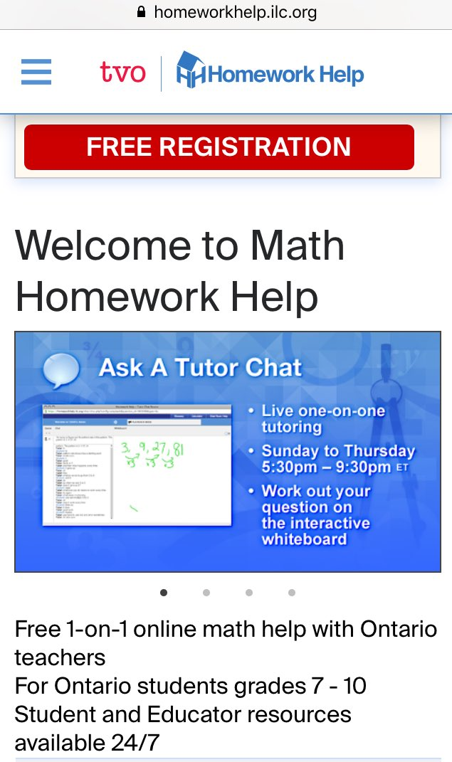 Homework help ontario government