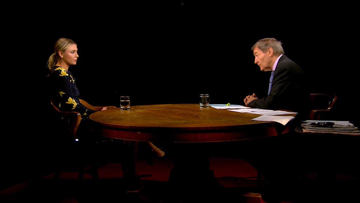 RT @CharlieRoseShow: Don't miss @charlierose's conversation with @MariaSharapova tonight on @PBS! #ITF #CAS https://t.co/yMLIb6oYWl
