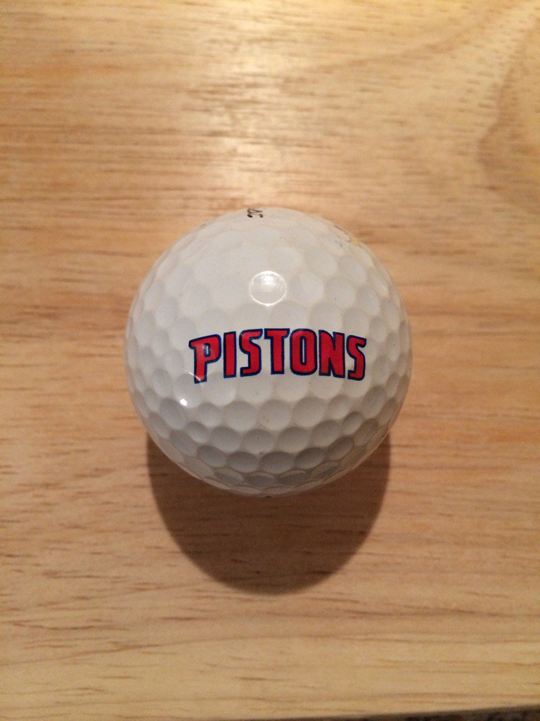 🏀 Donated Ball Of The Day 🏀 Added this @DetroitPistons #logo #golf ball to the collection. Courtesy of @u4golf1 https://t.co/BzXc6flGgc