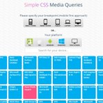 Online tool takes the guesswork out of CSS media queries https://t.co/Jo6IB8QI5s https://t.co/Oa6TnPYmOu